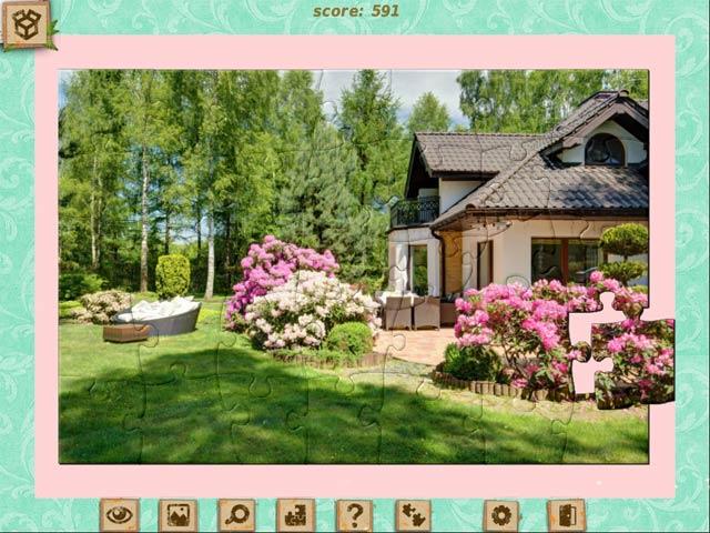 1001 jigsaw home sweet home screenshots 3