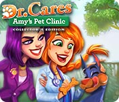 Dr. Cares: Amy's Pet Clinic Collector's Edition game feature image