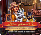 Alicia Quatermain 3: The Mystery of the Flaming Gold Collector's Edition game feature image
