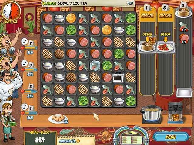 restaurant rush screenshots 1