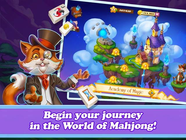 mahjong magic islands screenshots 1