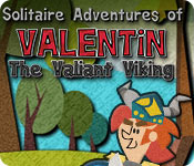Solitaire Adventures of Valentin The Valiant Viking game feature image