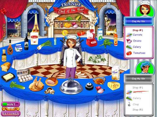 go-go gourmet: chef of the year screenshots 1