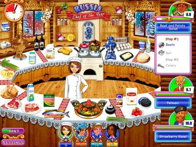 go-go gourmet: chef of the year screenshots 2