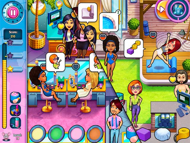 sally's salon: kiss & make-up collector's edition screenshots 6