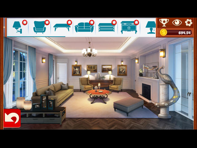 home designer: living room screenshots 1