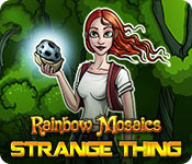 Rainbow Mosaics: Strange Thing game feature image