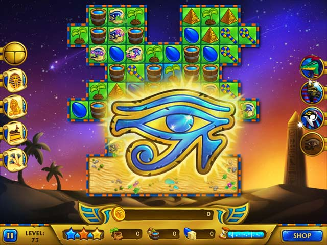legend of egypt: pharaoh's garden screenshots 3