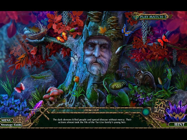 enchanted kingdom: the fiend of darkness collector's edition screenshots 2