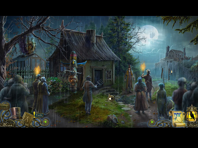 dark tales: edgar allan poe's the oval portrait collector's edition screenshots 1