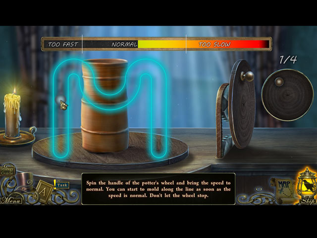 dark tales: edgar allan poe's the oval portrait collector's edition screenshots 3