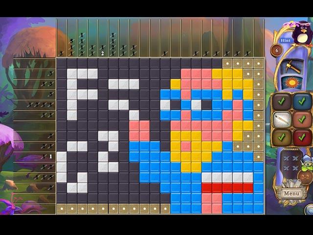 fantasy mosaics 30: camping trip screenshots 1