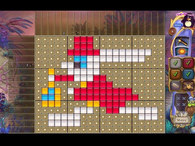 fantasy mosaics 30: camping trip screenshots 3