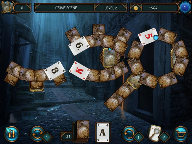 detective solitaire inspector magic screenshots 1