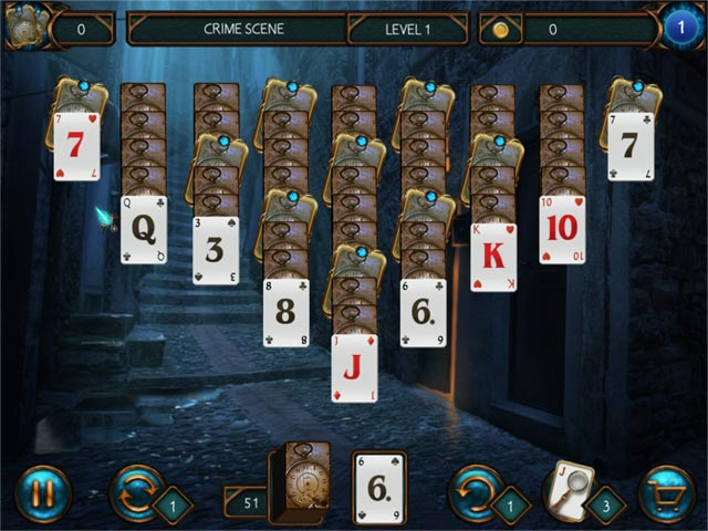 detective solitaire inspector magic screenshots 3