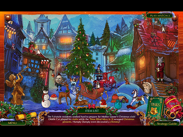 the christmas spirit: mother goose's untold tales collector's edition screenshots 3