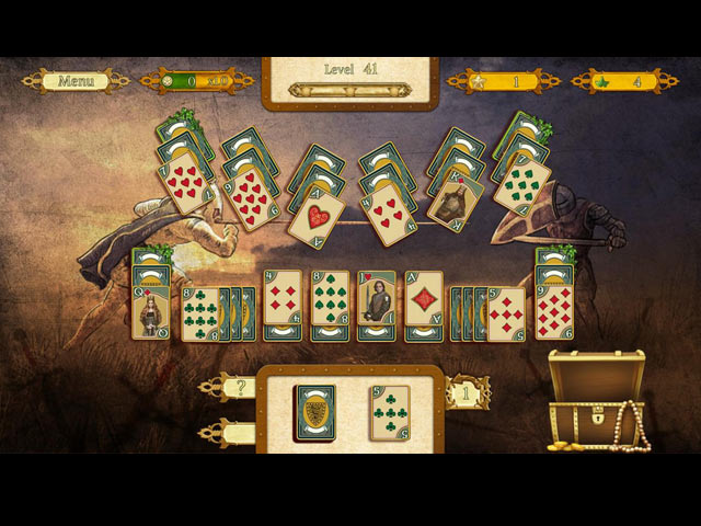 the legend of king arthur solitaire screenshots 1