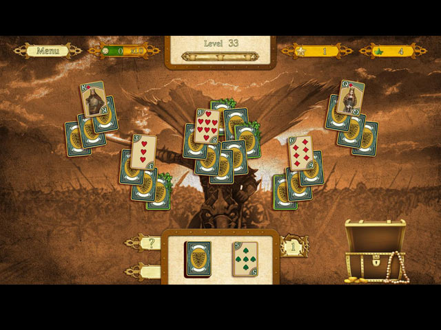 the legend of king arthur solitaire screenshots 2