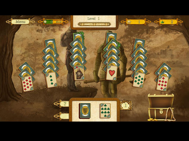 the legend of king arthur solitaire screenshots 3