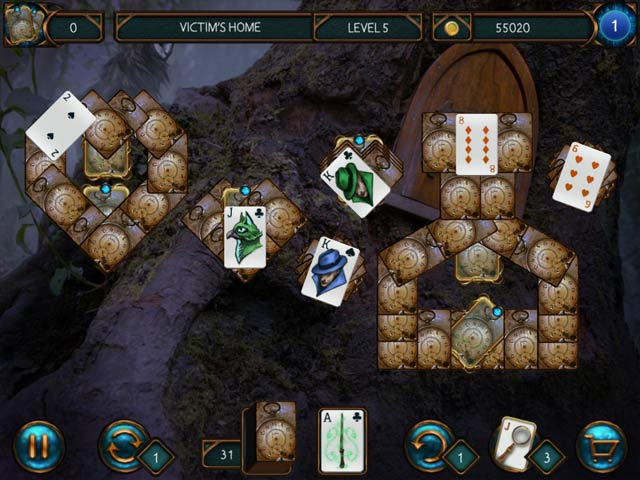 detective solitaire: inspector magic and the forbidden magic screenshots 2