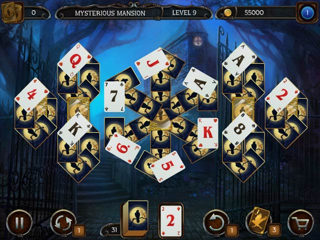 mystery solitaire: arkham's spirits screenshots 7