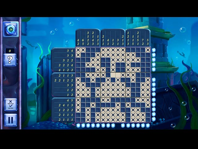 picross fairytale: legend of the mermaid screenshots 1
