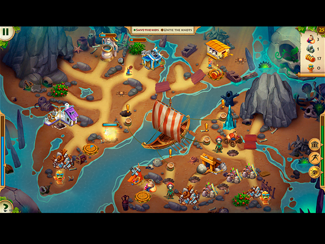 kids of hellas: back to olympus collector's edition screenshots 1