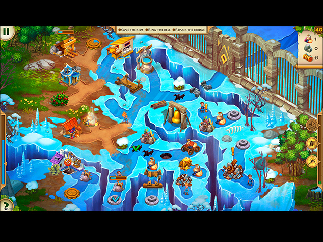 kids of hellas: back to olympus collector's edition screenshots 3