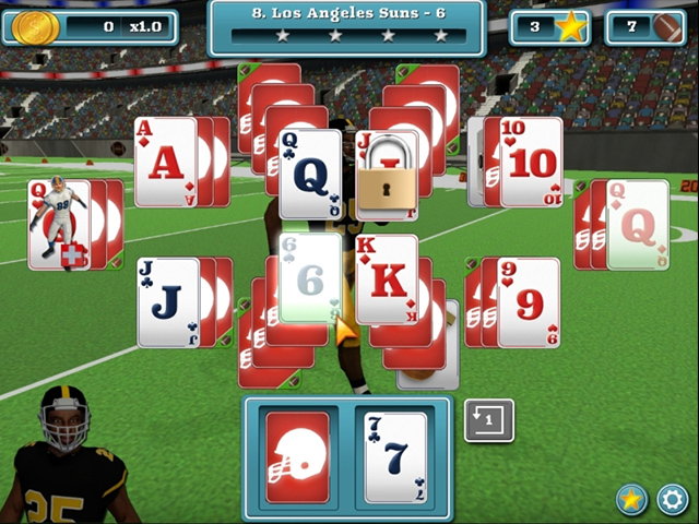 touch down football solitaire screenshots 2
