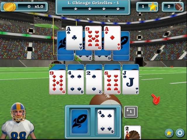touch down football solitaire screenshots 3