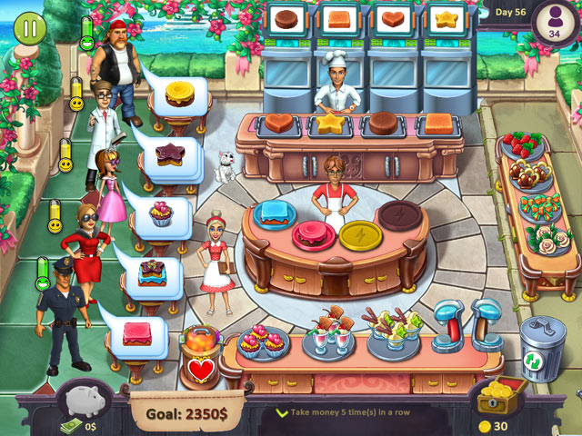katy and bob: cake cafe screenshots 1