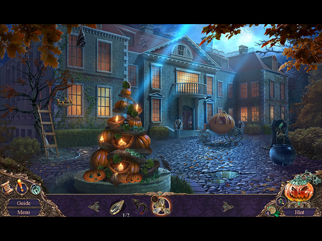 haunted manor: halloween's uninvited guest collector's edition screenshots 1