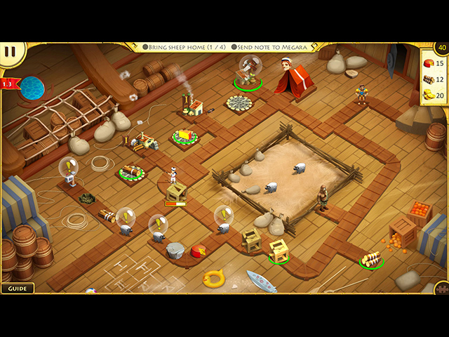 12 labours of hercules viii: how i met megara collector's edition screenshots 11