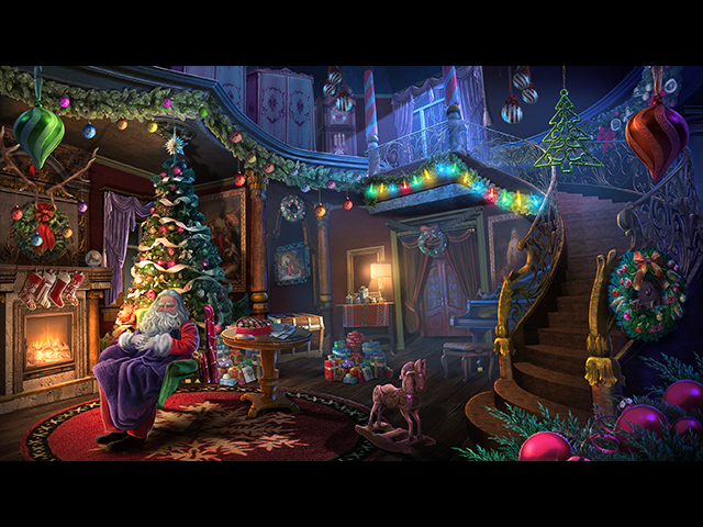 yuletide legends: who framed santa claus collector's edition screenshots 1
