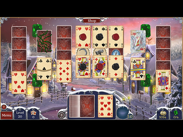 jewel match solitaire: winterscapes screenshots 1