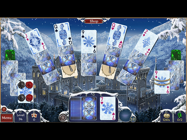 jewel match solitaire: winterscapes screenshots 2
