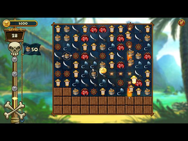 match three pirates! heir to davy jones screenshots 2