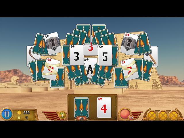 luxor solitaire screenshots 2