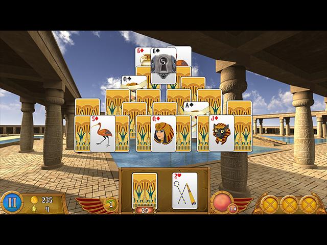 luxor solitaire screenshots 3
