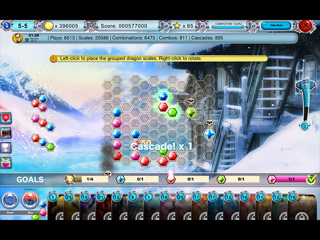 dragonscales 5: the frozen tomb screenshots 1
