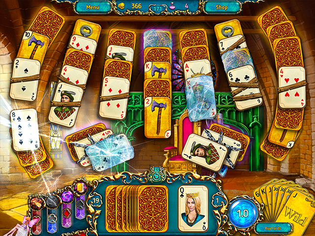 dreamland solitaire screenshots 1