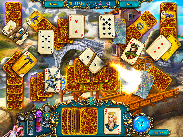 dreamland solitaire screenshots 3