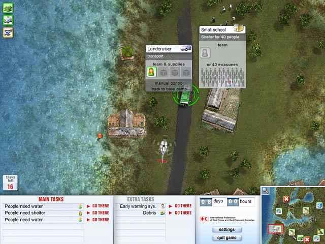 red cross - emergency response unit screenshots 1