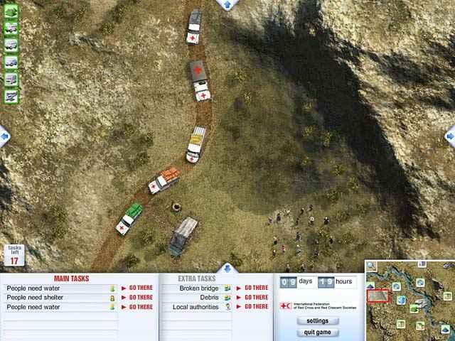 red cross - emergency response unit screenshots 2