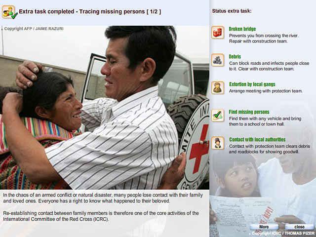 red cross - emergency response unit screenshots 3