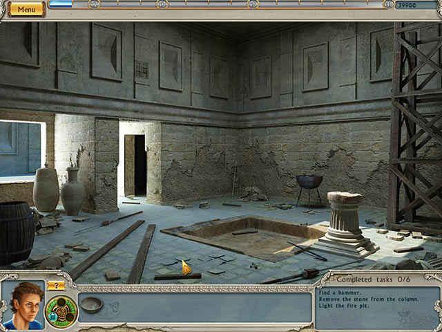 alabama smith: escape from pompeii screenshots 1
