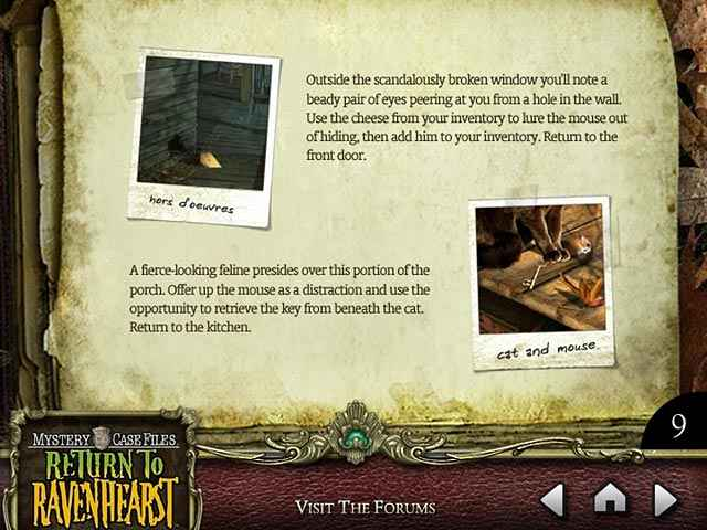 mystery case files: return to ravenhearst strategy guide screenshots 2