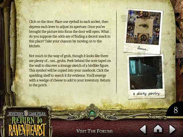 mystery case files: return to ravenhearst strategy guide screenshots 3