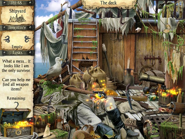 adventures of robinson crusoe screenshots 1