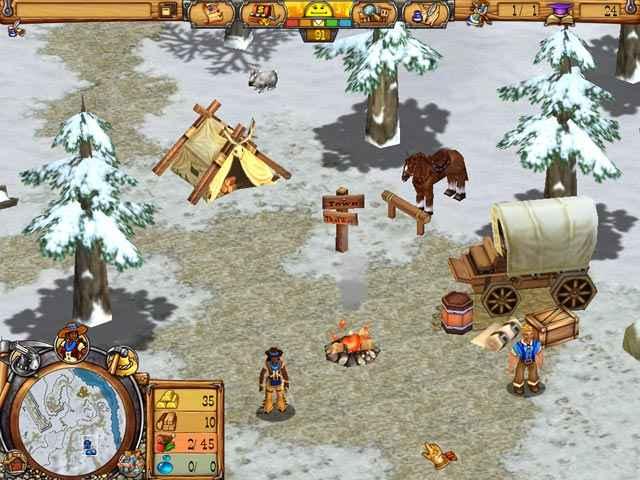 westward iii: gold rush screenshots 2